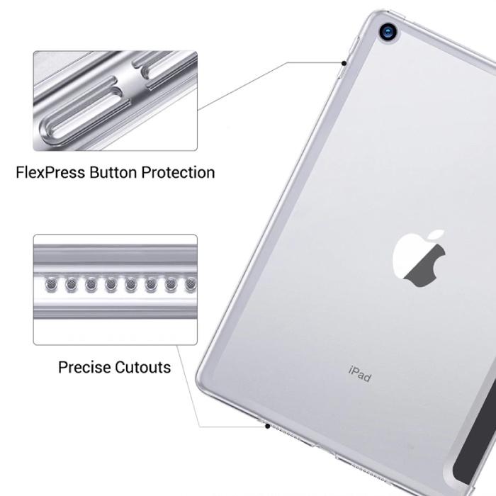 Stuff Certified® iPad Mini 1  Leren Vouwbare Cover Hoesje Case Blauw
