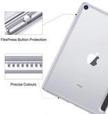 Stuff Certified® iPad Mini 1  Leren Vouwbare Cover Hoesje Case Roze