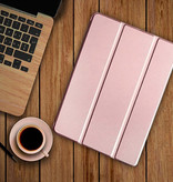 Stuff Certified® iPad Air 2  Leren Vouwbare Cover Hoesje Case Roze
