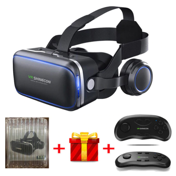6.0 Virtual Reality 3D Bril 120° Met Controller