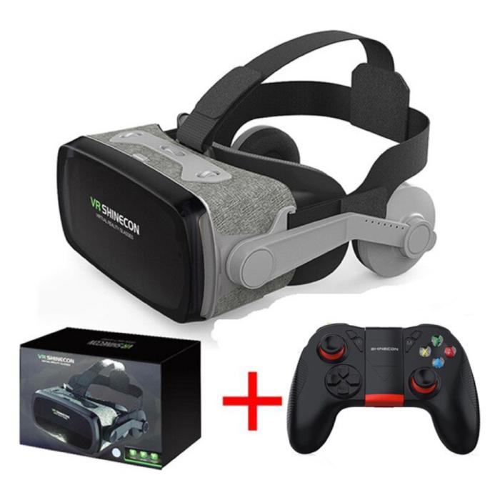 9.0 Verres 3D de réalité virtuelle 120 ° avec contrôleur