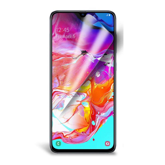 Samsung Galaxy A70 Displayschutzfolie Folie PET Faltbare Schutzfolie