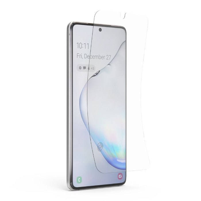 Samsung Galaxy S20 Screen Protector Foil Folie PET Vouwbare Beschermfolie Film