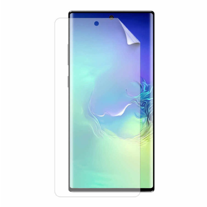 3-Pack Screen Protector Samsung Galaxy Note 10 Plus Foil Folie PET Vouwbare Beschermfolie Film