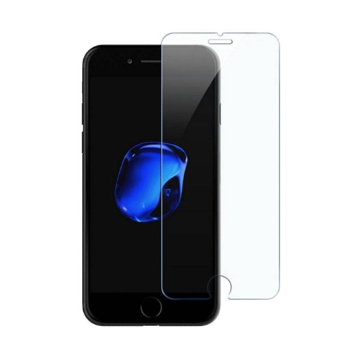 iPhone SE (2020) Screen Protector Tempered Glass Film Gehard Glas Glazen