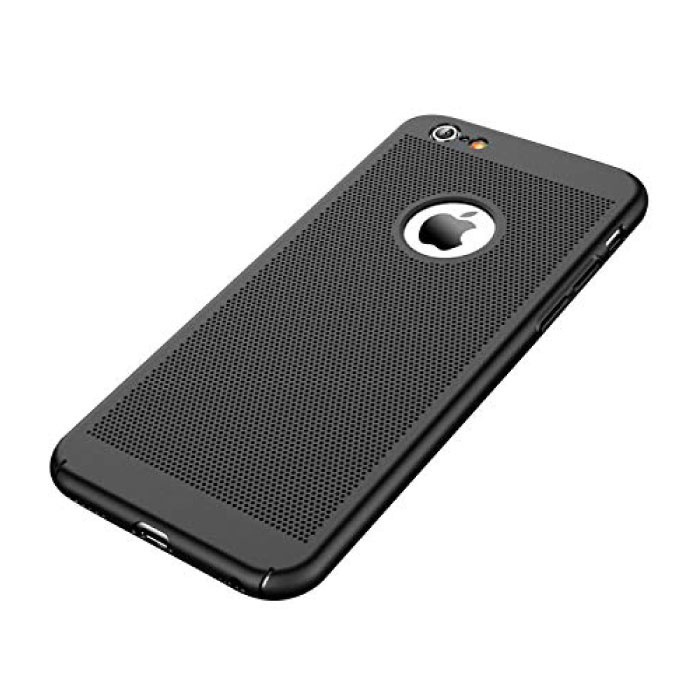 Stuff Certified® iPhone SE (2020)  - Ultra Slanke Case Warmteafvoer Cover Cas Hoesje Zwart