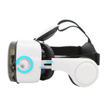 BOBO VR VR Virtual Reality 3D Glasses 120 ° With Bluetooth Remote Control for Smartphones White