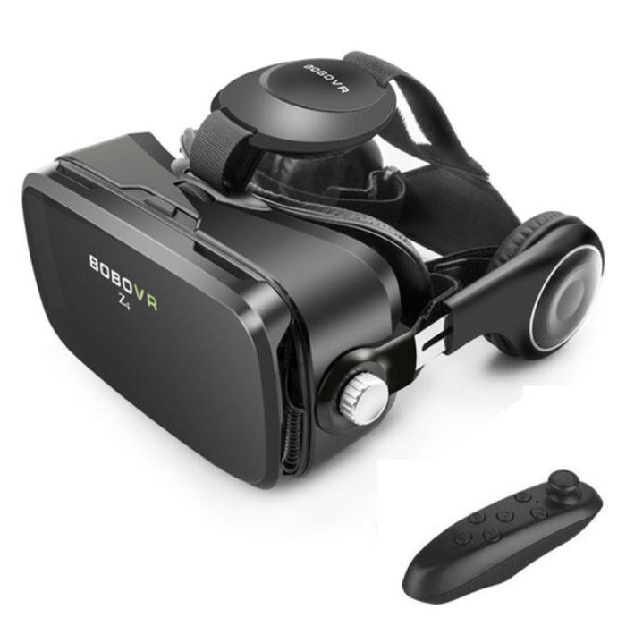 VR Virtual Reality 3D Bril 120° Met Bluetooth Afstandsbediending voor Smartphones