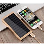Stuff Certified® Externe 30.000mAh Solar Charger Powerbank Zonnepaneel Noodaccu Batterij Oplader Goud