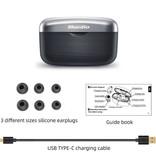 Bluedio Fi Draadloze Smart Touch Control Oortjes TWS Bluetooth 5.0 Ear Wireless Buds Earphones Earbuds Oortelefoon 650mAh