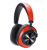 Bluedio T7 Draadloze Koptelefoon Bluetooth Wireless Headphones Stereo Gaming Rood