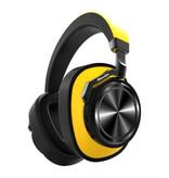 Bluedio T7 Draadloze Koptelefoon Bluetooth Wireless Headphones Stereo Gaming Geel
