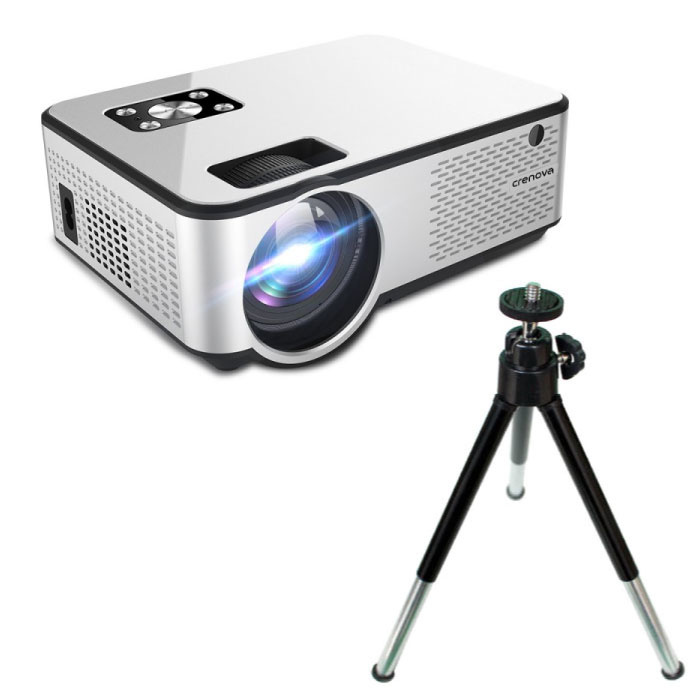 C9 LED Projector with Android and Bluetooth & Tripod - Beamer Home Media Players