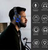 Stuff Certified® Bass HD Gaming Headset Stereo Koptelefoon Headphones met Microfoon voor PlayStation 4 / PC Wit