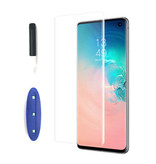 Stuff Certified® UV Screen Protector Samsung Galaxy S9 Plus Tempered Glass Film