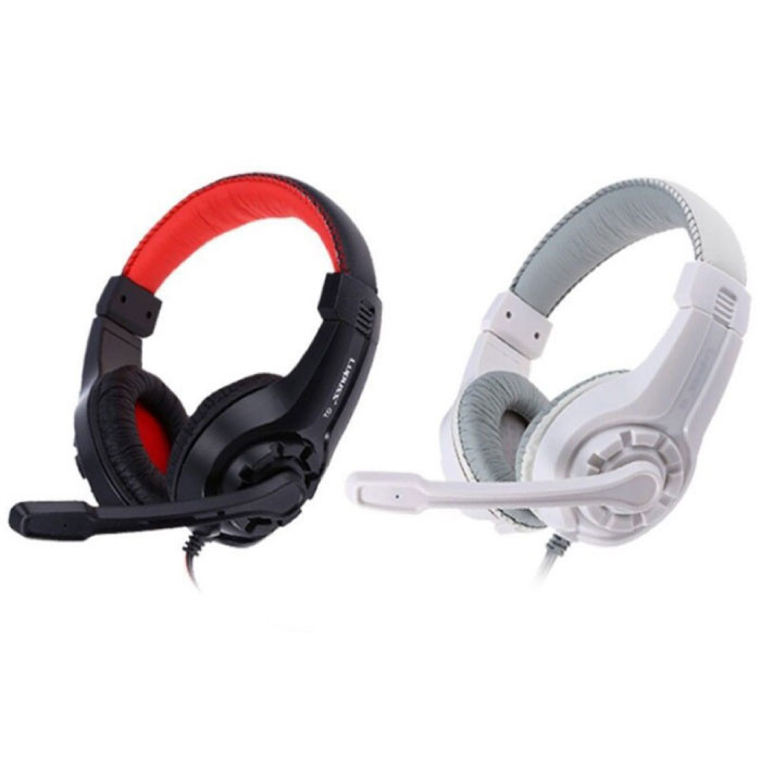 Lupuss G1 Headphones with Microphone Headphones Stereo Gaming PlayStation 4 Red