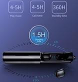 Stuff Certified® Sport TWS Wireless Earphones Bluetooth 5.0 Air Wireless Pods Earphones Earbuds Black