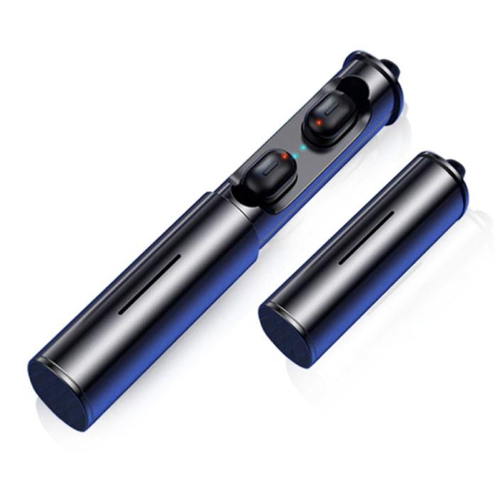 T1 TWS Sport Draadloze Oortjes Bluetooth 5.0 Air Wireless Pods Earphones Earbuds Zwart