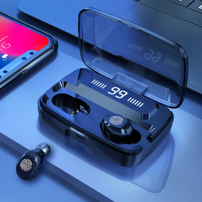 M11-9 TWS Draadloze Smart Touch Control Oortjes Bluetooth 5.0 Air Wireless Pods Earphones Earbuds