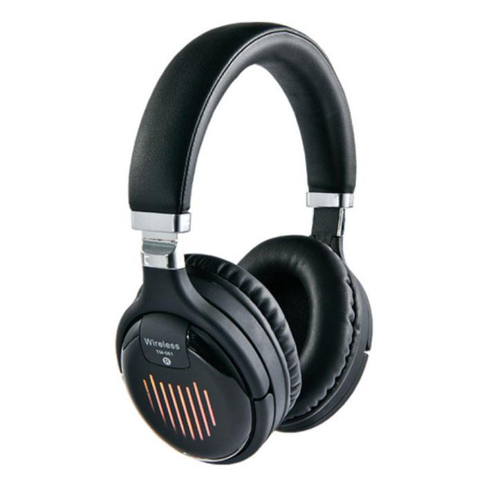 Casque sans fil TM-061 Casque sans fil Bluetooth Casque stéréo Gaming Noir