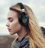 Stuff Certified® TM-061 Wireless Headphones Bluetooth Wireless Headphones Stereo Gaming Black