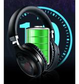 Stuff Certified® TM-061 Wireless Headphones Bluetooth Wireless Headphones Stereo Gaming Silver