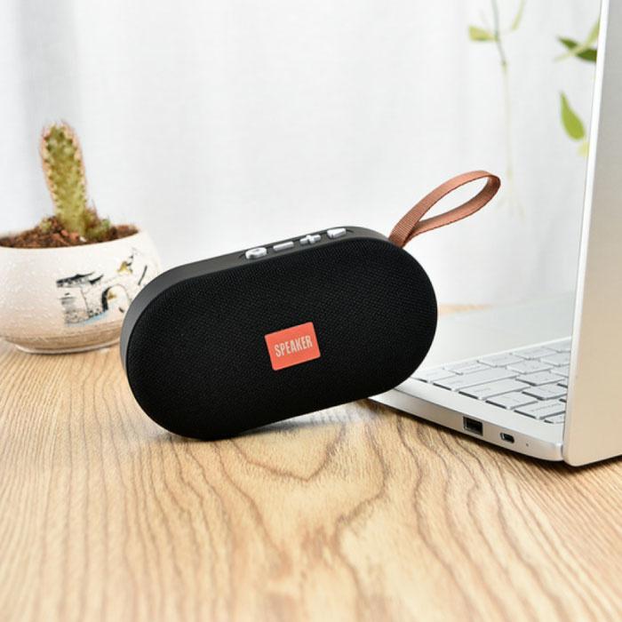 T7 Mini Bluetooth 5.0 Soundbox Draadloze Luidspreker Externe Wireless Speaker Zwart