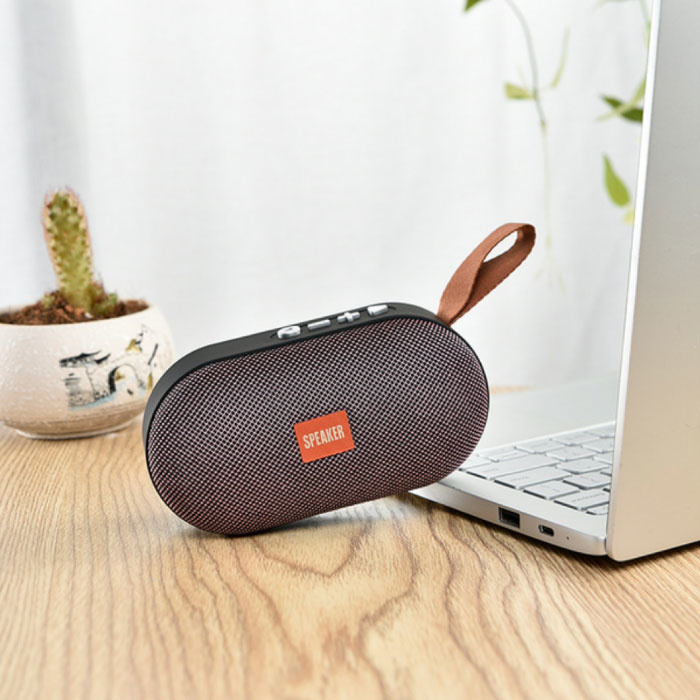 T7 Mini Bluetooth 5.0 Soundbox Draadloze Luidspreker Externe Wireless Speaker Rood