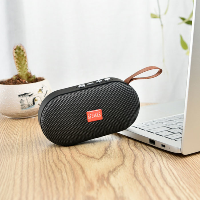 T7 Mini Bluetooth 5.0 Soundbox Draadloze Luidspreker Externe Wireless Speaker Grijs