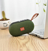 Stuff Certified® T7 Mini Bluetooth 5.0 Soundbox Wireless Speaker External Wireless Speaker Green