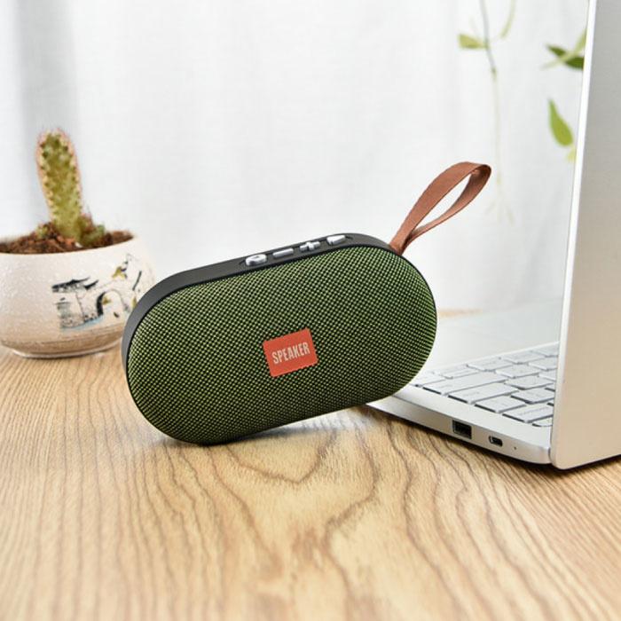 T7 Mini Bluetooth 5.0 Haut-parleur sans fil Soundbox Haut-parleur externe sans fil vert