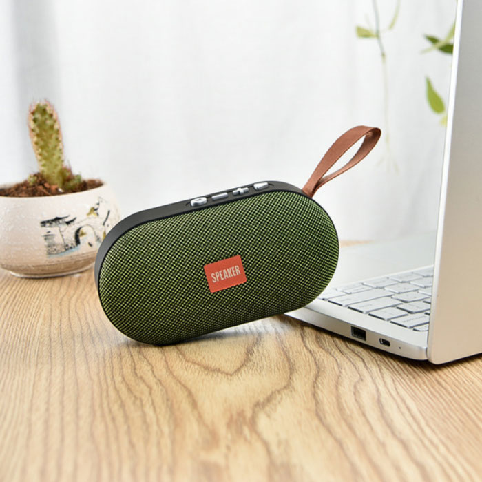 T7 Mini Bluetooth 5.0 Soundbox Draadloze Luidspreker Externe Wireless Speaker Groen