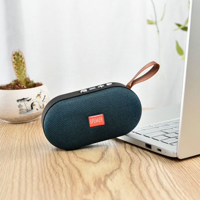 Stuff Certified® T7 Mini Bluetooth 5.0 Soundbox Wireless Speaker External Wireless Speaker Blue