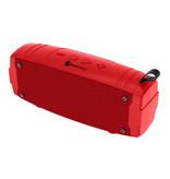 NewRixing Soundbox Wireless Speaker Bluetooth 5.0 External Wireless Speaker Red