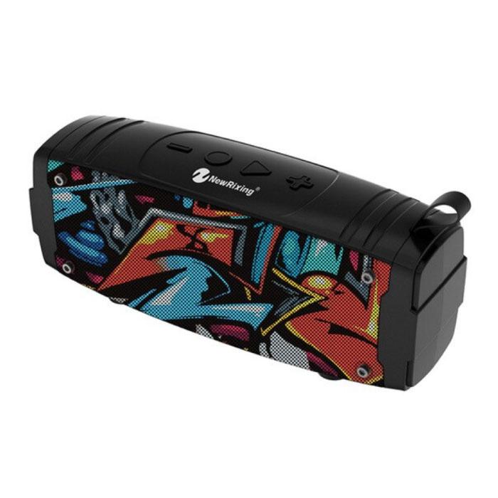 Haut-parleur sans fil Soundbox Bluetooth 5.0 Haut-parleur sans fil externe Graffiti