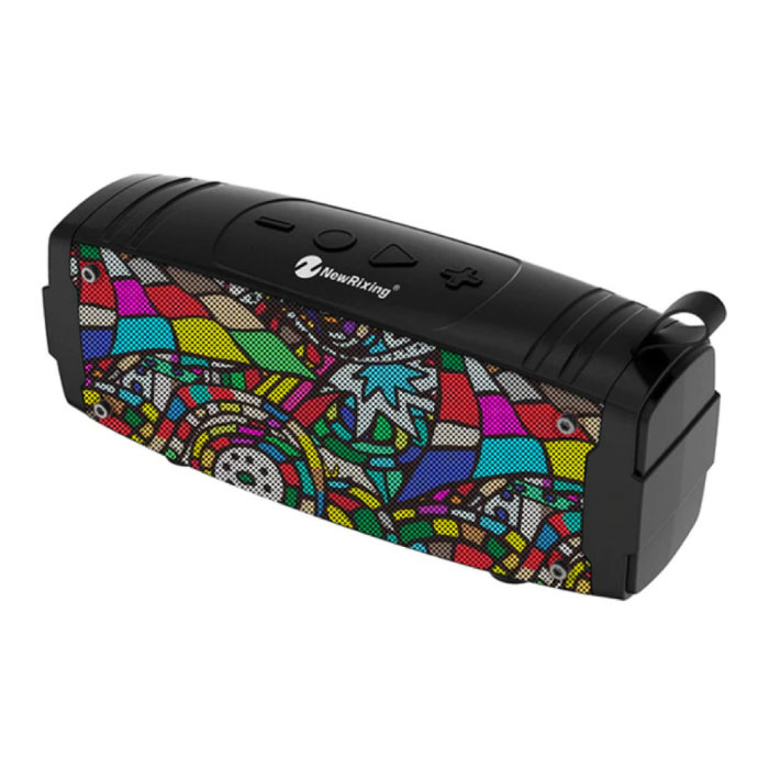 Soundbox Haut-parleur sans fil Bluetooth 5.0 Haut-parleur sans fil externe Art