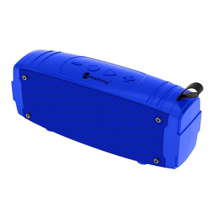 Soundbox Wireless Speaker Bluetooth 5.0 Haut-parleur sans fil externe Bleu