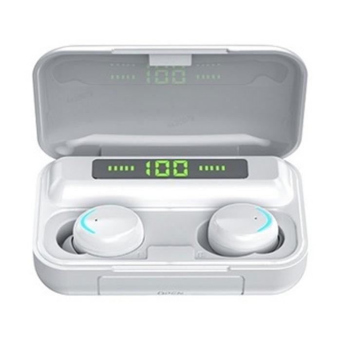 IPX7 TWS écouteurs de contrôle tactile intelligent sans fil 2200mAh Bluetooth 5.0 Air pods sans fil écouteurs écouteurs blanc