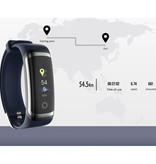 Longet M4 Smartband Fitness Tracker Smartwatch Smartphone Sport Activity Watch IPS iOS Android iPhone Samsung Blue Silver