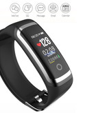 Longet M4 Smartband Fitness Tracker Smartwatch Smartphone Sport Activity Watch IPS iOS Android iPhone Samsung Red Silver