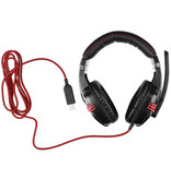 Salar KX236 Stereo Gaming Headphones Headset Headphones with Microphone