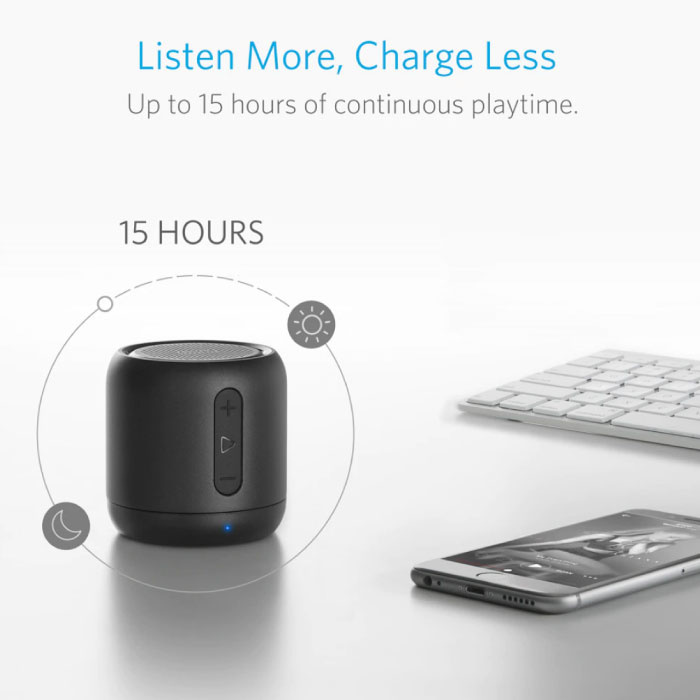 ANKER SoundCore Mini Bluetooth 4.0 Soundbox Draadloze Luidspreker Externe Wireless Speaker Zwart