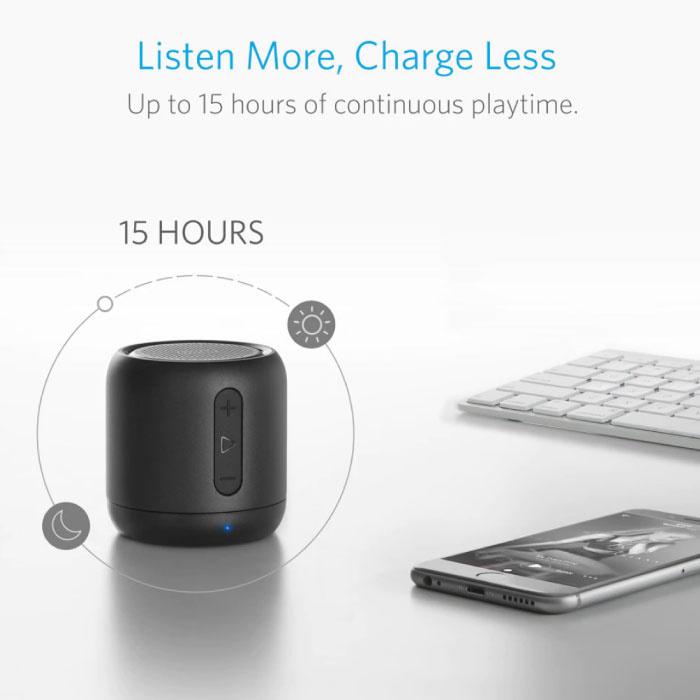 ANKER SoundCore Mini Bluetooth 4.0 Soundbox Wireless Speaker External Wireless Speaker Black