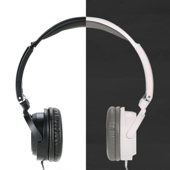 Salar EM520 stéréo Pliable Casque HiFi Casque Gaming Blanc