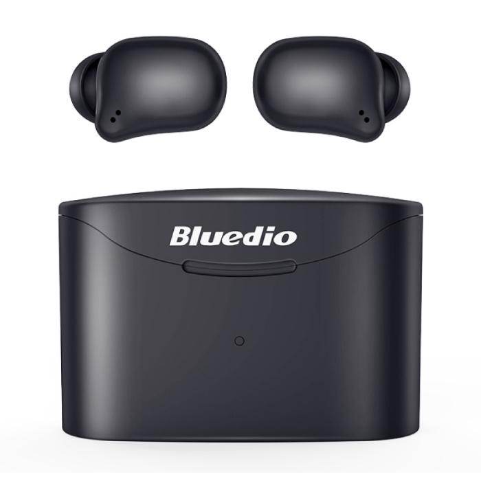 T-2 Eleven Wireless Touch Control Earpieces TWS Bluetooth 5.0 sans fil Cosses Air Écouteurs Oreillettes Noir
