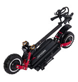 Janobike T85 Electric Off-Road Smart E Step Scooter with Seat - 5600W - 32Ah Battery - 10 inch Wheels