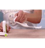 Stuff Certified® Ventilateur portable rechargeable C28 - Ventilateur manuel sur batterie vert