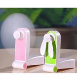 Stuff Certified® C28 Oplaadbare Draagbare Ventilator - Handventilator Op Batterij Roze