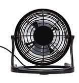 Stuff Certified® Rechargeable Portable Fan - Hand Fan 2500RPM Black