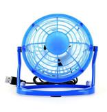 Stuff Certified® Rechargeable Portable Fan - Hand Fan 2500RPM Blue